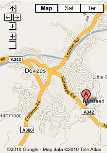 Mike Woods Tyres Ltd - Location Map